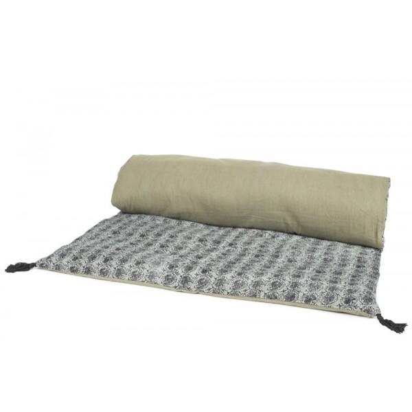 Housse d 39 edredon maya harmony textile for Housse edredon