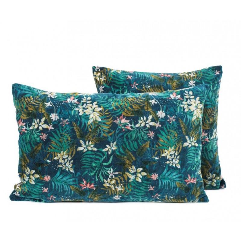 housse de coussin jungle harmony textile. Black Bedroom Furniture Sets. Home Design Ideas