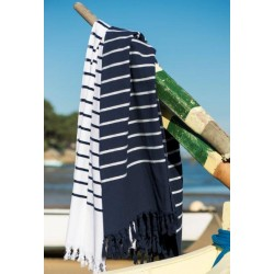 BATH TOWEL PESTAMAL MARINIERE
