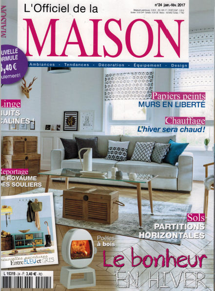 Parution l'officiel de la maison Janvier 2017