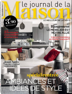 Parution web le journal de la maison septembre 2017