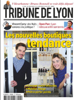 Parution La tribune de Lyon mai 2017