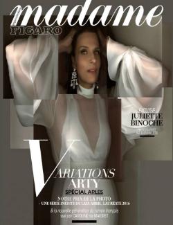 Parution magazine Madame Lefigaro juillet 2017