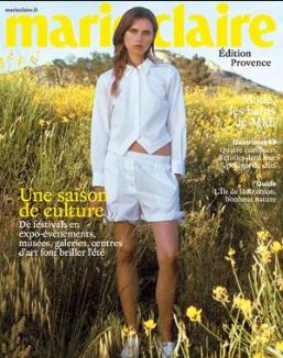 Parution Marie Claire aout 2017