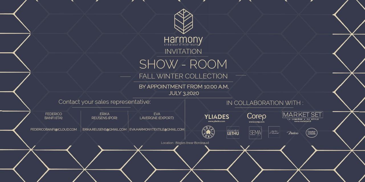 SHOW ROOM HARMONY TEXTILE 2020